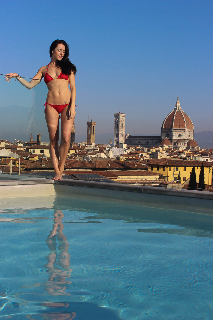 Travel Blog Florence - Clutch and carry on - sabrina chakici - fashion blogger - hotel luchessi-11