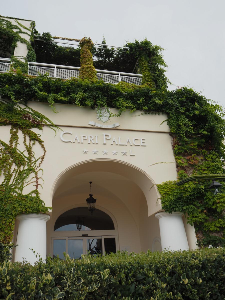 Capri Palace Hotel >> The Capri Palace Hotel Clutch Carry On