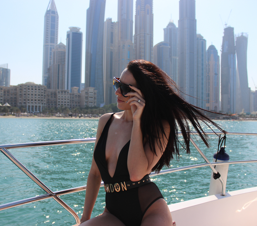 clutch and carry on - uk travel blogger - dubai travel blog - dubai yacht tour - sabrina chakici-48