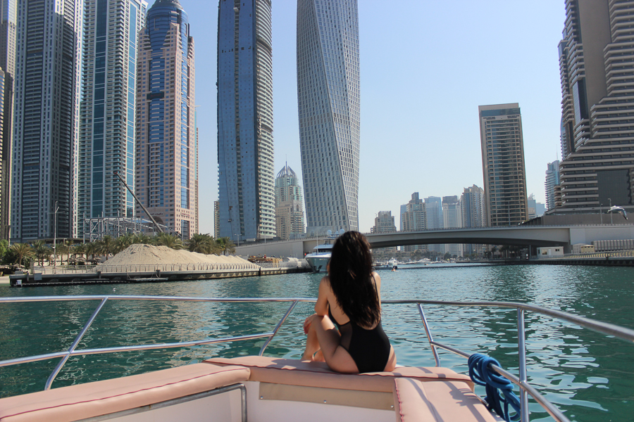 clutch and carry on - uk travel blogger - dubai travel blog - dubai yacht tour - sabrina chakici-62