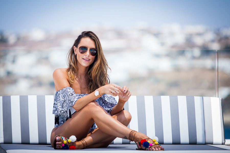 Sabrina Chakici - Clutch and carry on - travel and style blog, travel blogger - Mykonos travel blog - Folli Follie - FFislandhopping-126