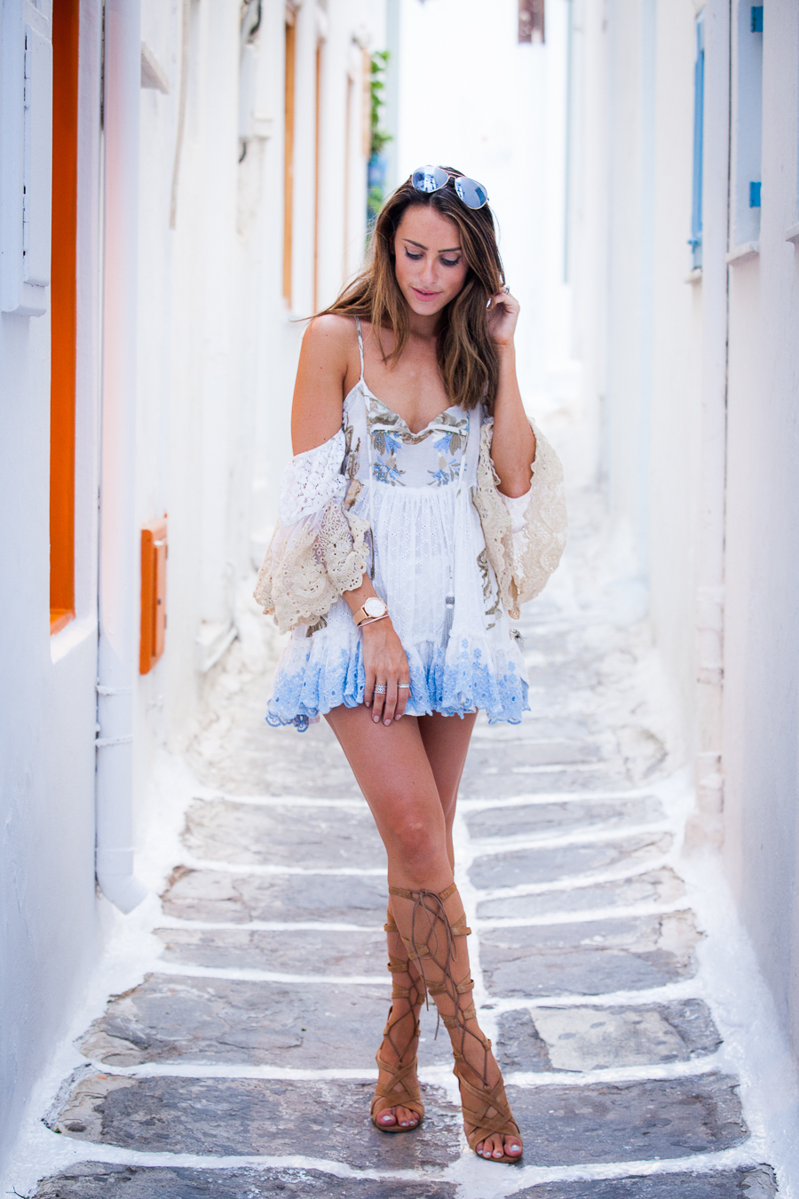 Sabrina Chakici - Clutch and carry on - travel and style blog, travel blogger - Mykonos travel blog - Folli Follie - FFislandhopping-168