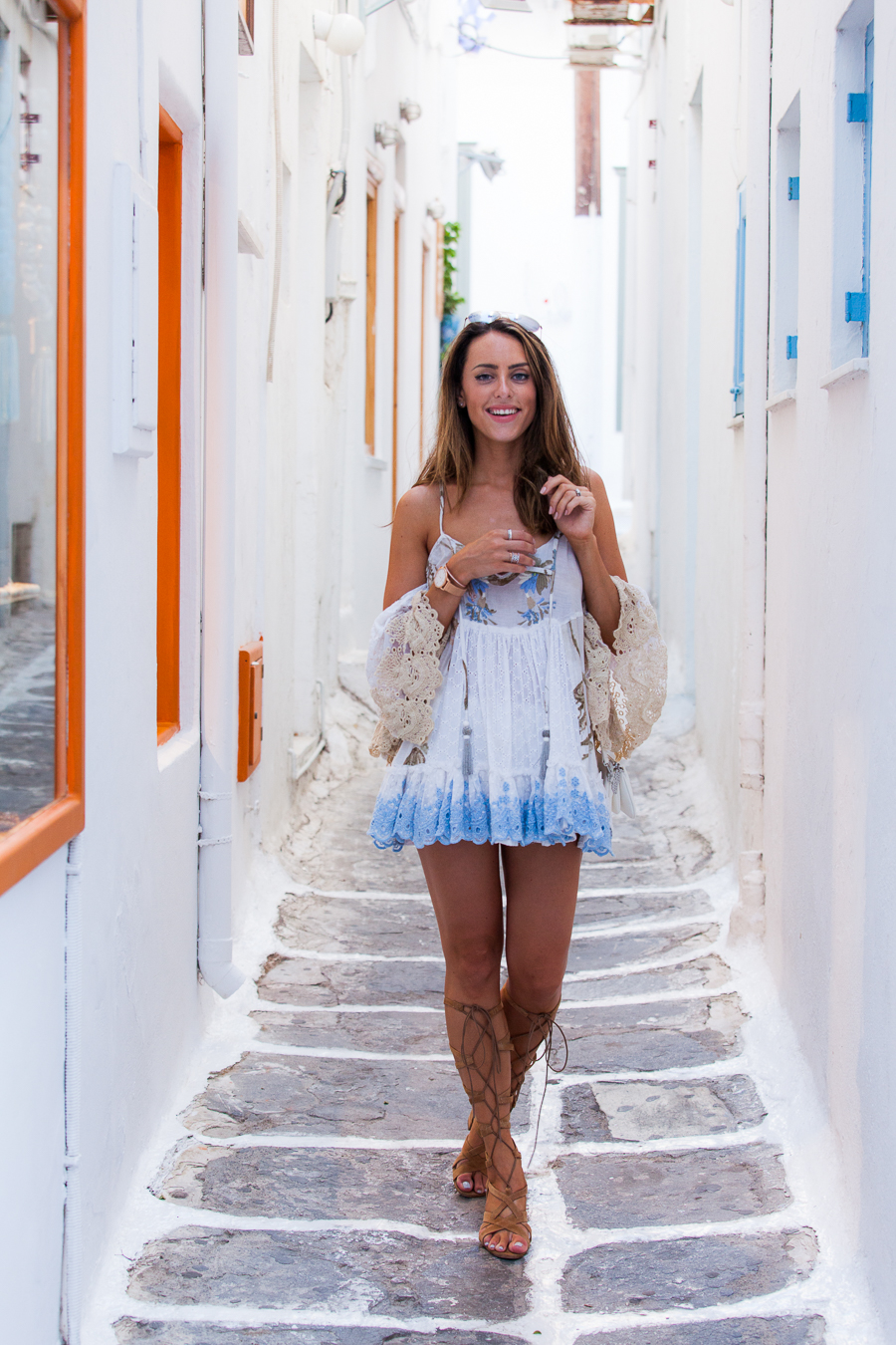 Sabrina Chakici - Clutch and carry on - travel and style blog, travel blogger - Mykonos travel blog - Folli Follie - FFislandhopping-169
