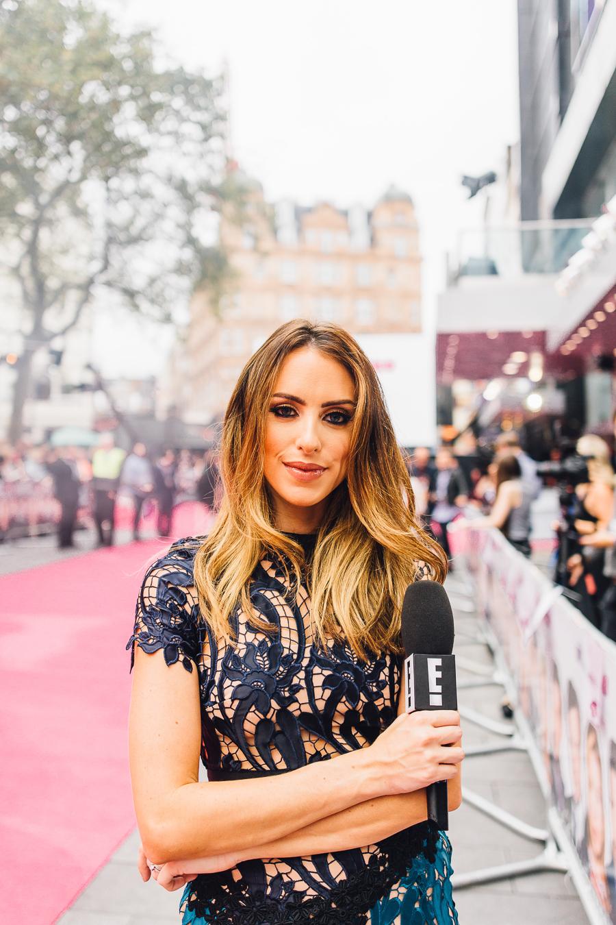 Sabrina Chakici E! UK Ireland - Bridget Jones Baby world premiere - clutch and carry on blog - E! Host UK & Ireland_-26