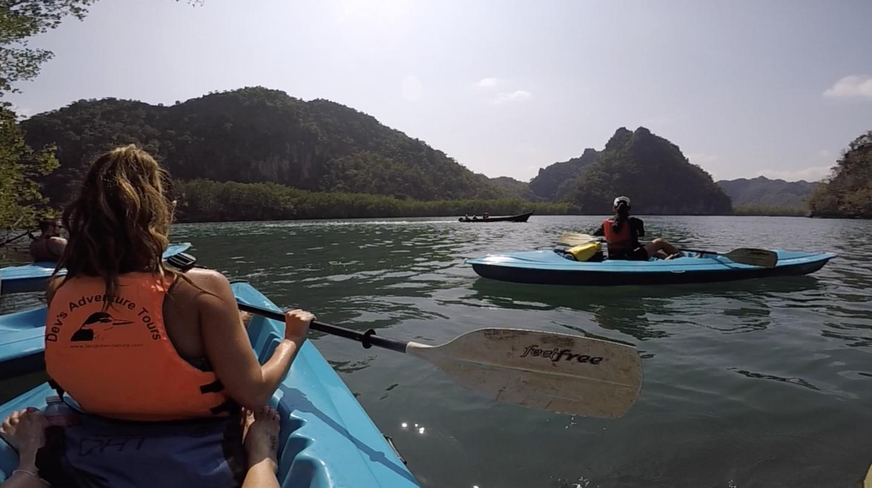 Mangrove kayacking langkawi malaysia 1