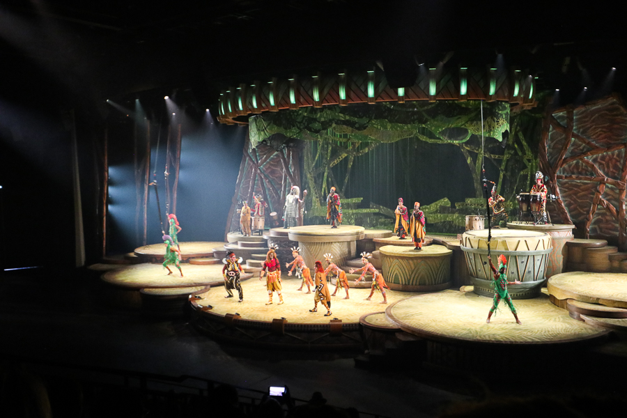 Disneyland Paris The Lion King Show